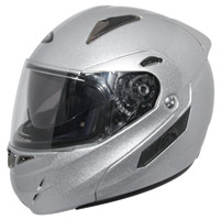 Zox Genessis RN2 SVS Silver Modular Helmet