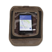 Burly Brand Dark Oak Magnetic Map Tank Screen