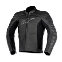 Alpinestars Men's Black SP-1 Airflow Leather Jacket