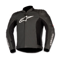 Alpinestars Men's Black/Red SP-1 Airflow Leather Jacket