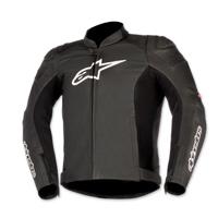 Alpinestars Men's Black/Red SP-1 Airflow Leather Jacket