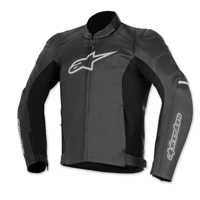 Alpinestars Men's SP-1 Black Leather Jacket