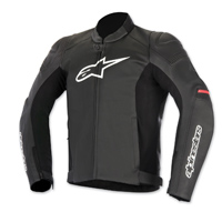 Alpinestars Men's SP-1 Black/Red Leather Jacket
