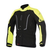 Alpinestars Men's Vence Drystar Black/Yellow Jacket