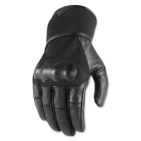 ICON Men's Tarmac Black Gloves