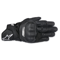 Alpinestars Men's SP-5 Black Leather Gloves