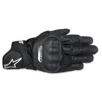 Alpinestars Men's SP-5 Black Leather Gloves