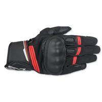 Alpinestars Men's Booster Black/Red Gloves