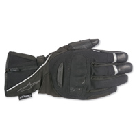 Alpinestars Men's Primer Drystar Black Leather Gloves