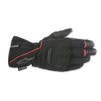 Alpinestars Men's Primer Drystar Black/Red Leather Gloves