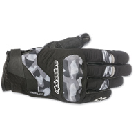Alpinestars Men's C-30 Drystar Black/Camo Gloves