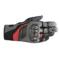 Alpinestars Men's Belize Drystar Black/Gray/ Red Gloves