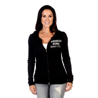 Liberty Wear Women's American Rebel Black Hoodie