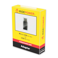 RidePower Micro USB-USB-C Adapter