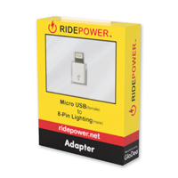RidePower Micro USB-IOS Adapter