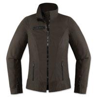 ICON One Thousand Women's Fairlady Textile Espresso Jacket