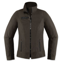 ICON One Thousand Women's Fairlady Textile Espresso Jacket