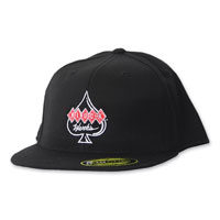Klock Werks Center Logo Flatbill Black Cap