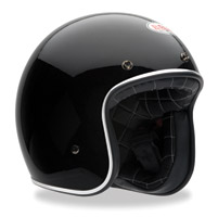Bell Custom 500 Black Open Face Helmet