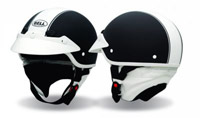 Bell White Visor for Shorty Helmets