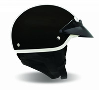 Bell Black Neck Curtain for Shorty Helmets