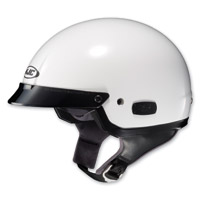 HJC IS-2 White Half Helmet
