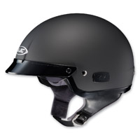 HJC IS-2 Matte Black Half Helmet