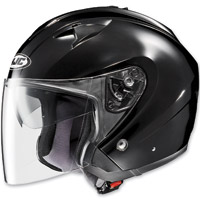 HJC IS-33 Black Open Face Helmet