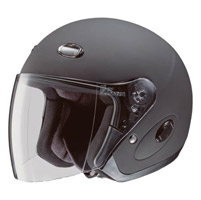 HJC CL-33 Solid Matte Black Open Face Helmet