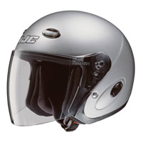 HJC CL-33 Silver Open Face Helmet