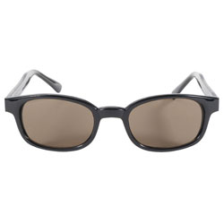 KD's Sunglasses - Black Frame with Dark Brown Lens