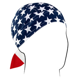 ZAN headgear American Flag Head Wrap