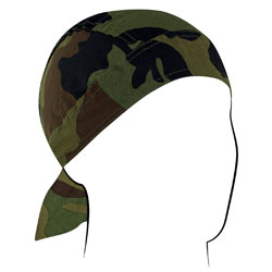ZAN headgear Woodland Camo Head Wrap