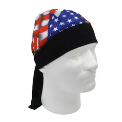 Schampa American Flag Stretch Head Wrap