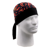 Schampa Mini Flames Stretch Head Wrap