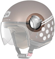 Nolan N20 Faceshield Chrome Mechanism