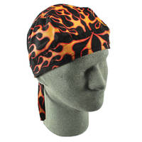 ZAN headgear Road Hogs Classic Flame Flydanna