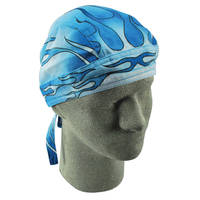 ZAN headgear Road Hogs Blue Blaze Flydanna