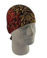 ZAN headgear Fire Skull  Flydanna Head Wrap