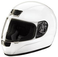 Z1R Phantom White Full Face Helmet
