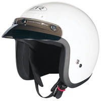 Z1R Jimmy White Open Face Helmet