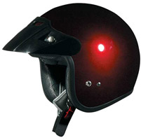 AFX Junior FX-75 Wine Red Open Face Helmet