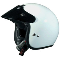 AFX Junior FX-75 White Open Face Helmet