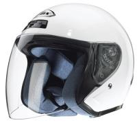 Zox Kaba White Open Face Helmet