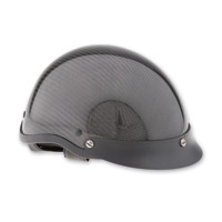 HCI-100 Carbon Fiber Designer Half Helmet