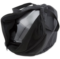 J&P Cycles® Black Helmet Bag