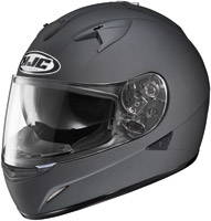 HJC IS-16 Matte Black Full Face Helmet with Sun Shield