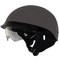 Zox Alto DDV Titanium Half Helmet with Drop Down Visor