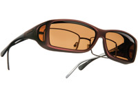 Cocoons Burgandy Sunglasses w/ Amber Lens