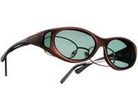 Cocoons Stream Line Small Burgundy Frame Sunglasses